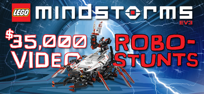 The LEGO Group LEGO MINDSTORMS Robo-Stunts Video Project