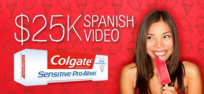 Colgate - Palmolive Colgate Sensitive Pro Alivio Video Project