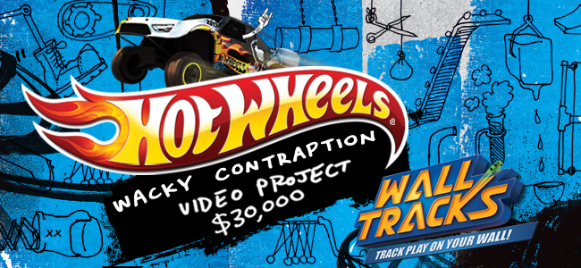 Hot Wheels® WALL TRACKS™ Wacky Contraption Video Project