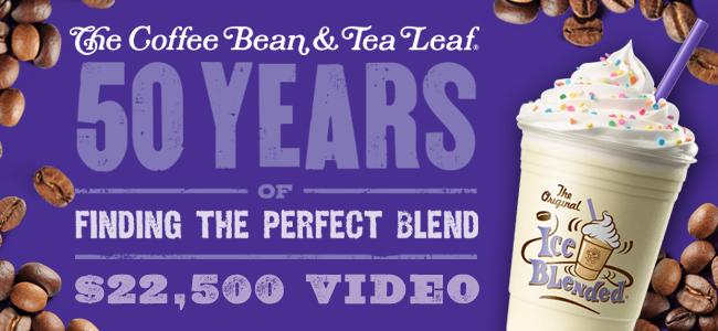 The Coffee Bean 50th Anniversary