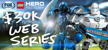 The LEGO Group Cleatus & LEGO Hero Factory Web Series