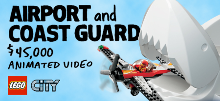 The LEGO Group LEGO City Airport and Coast Guard Video Project