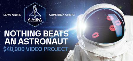 Axe Nothing Beats an Astronaut Video Project
