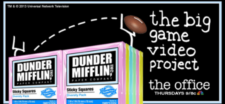 Dunder Mifflin The Big Game Video Project