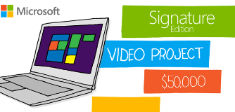 Microsoft The Signature Edition Video Project $50,250
