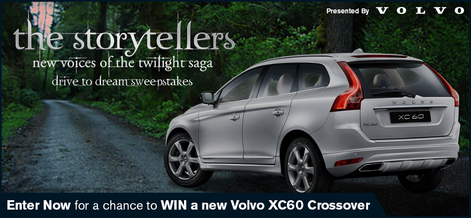 The Storytellers: New Voices of the Twilight Saga Volvo XC60 contest